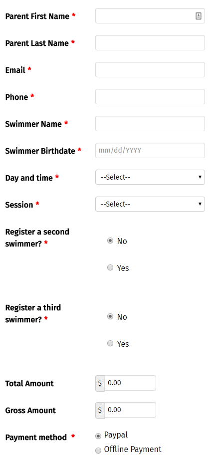 swim and be fit registration